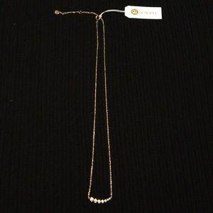 Gorjana Candice shimmer necklace.
